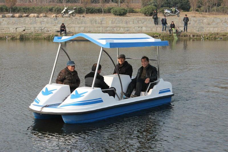 TZN410自排水电动船