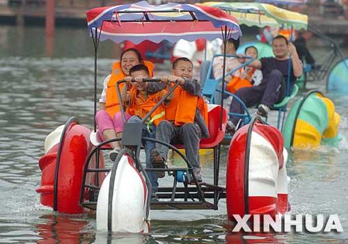 水上三轮车