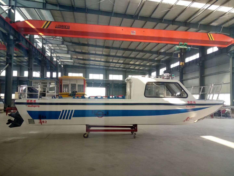 TZN780半棚公务艇
