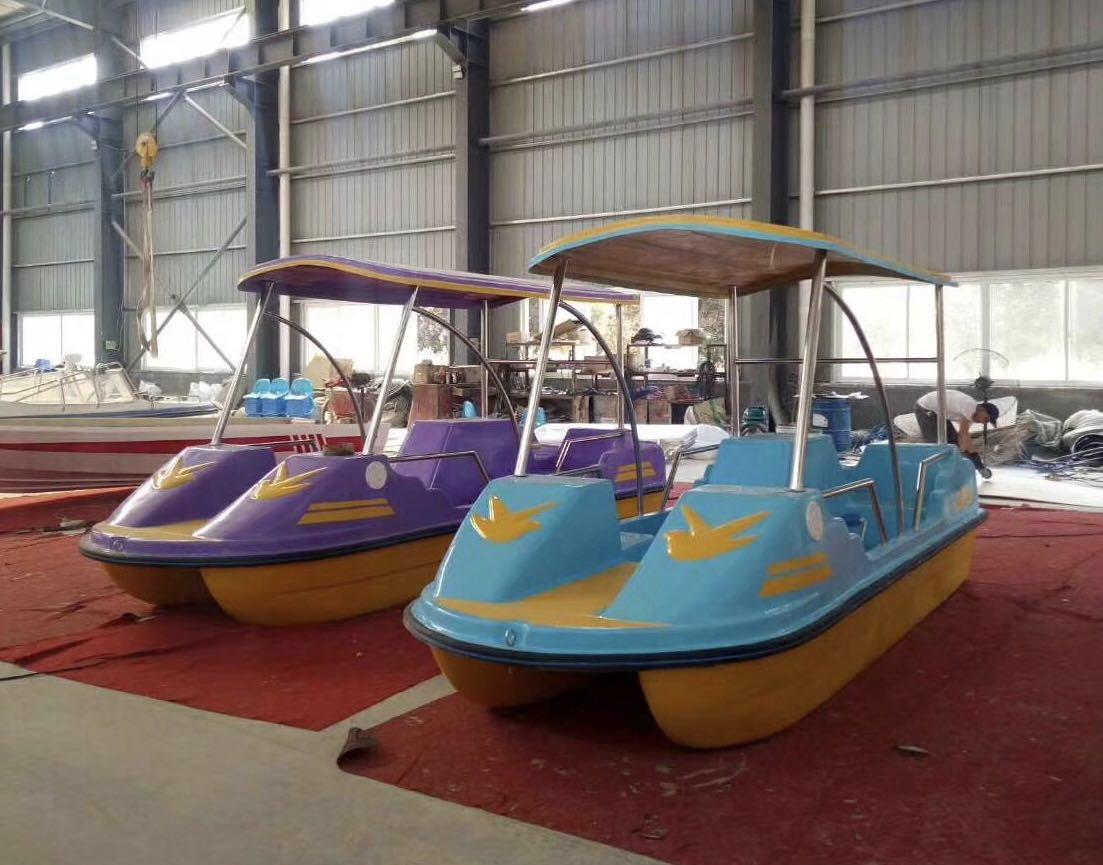 TZN410自排水脚踏船