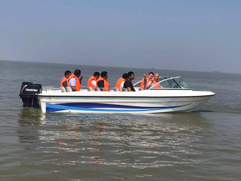 TZN600自排水豪华高速艇