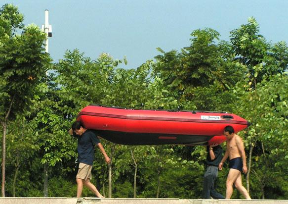 TZN390橡皮冲锋舟